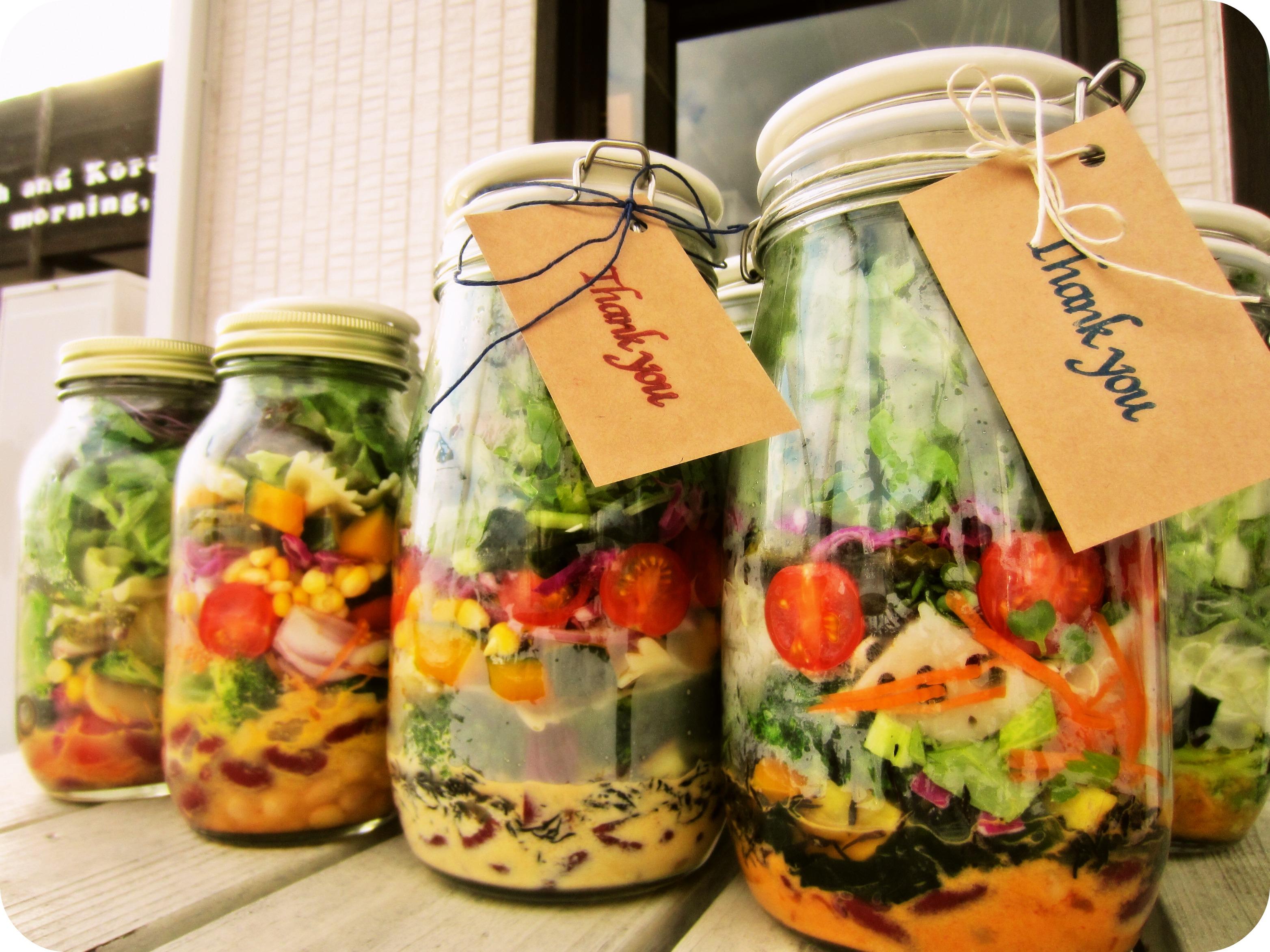 ジャーサラダは危険?煮沸・容器など食中毒の対策や安全な作り方!