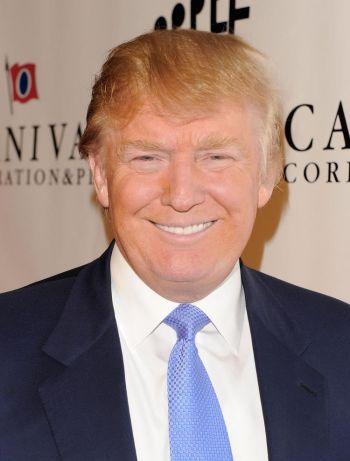 優しそうな表情のドナルド・トランプ大統領