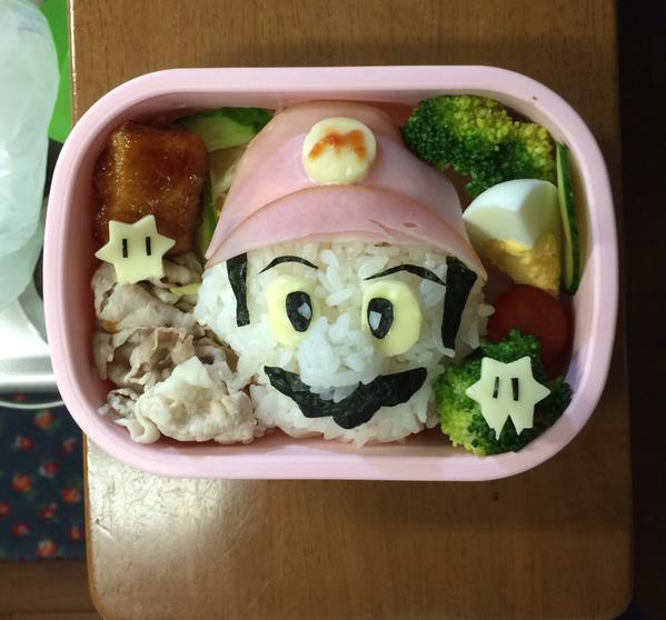 尾関キャラ弁