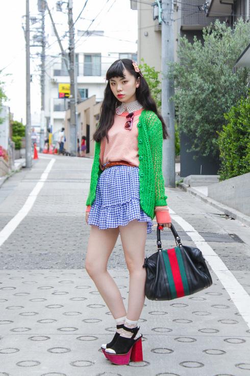 るうこファッション1