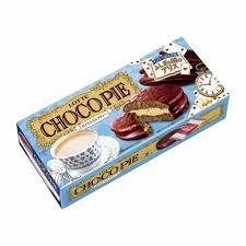 チョコパイロイヤルミルクティー