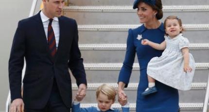 シャーロット王女(カナダ訪問)のブルーワンピースや髪飾りのブランドは?